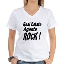 Real Estate Agents Rock ! Shirt
