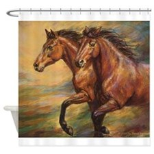 Mystic Melody Shower Curtain