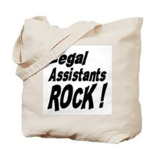 Legal Assistants Rock ! Tote Bag