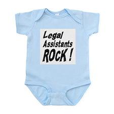 Legal Assistants Rock ! Infant Bodysuit