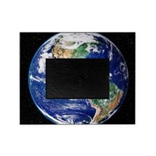 Earth from space, satellite image Picture Frame