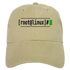 Root@Linux Baseball Cap