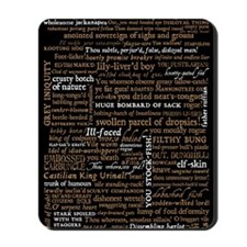 Shakespeare Quotes Mousepad