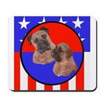 Bull Mastiff Mom & Puppy Mousepad