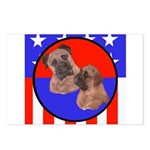 Bull Mastiff Mom & Puppy Postcards (Package of 8)