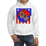 Bull Mastiff Mom & Puppy Hooded Sweatshirt