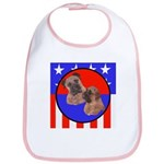 Bull Mastiff Mom & Puppy Bib