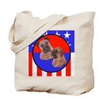 Bull Mastiff Mom & Puppy Tote Bag