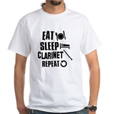 Eat Sleep Clarinet Shirt