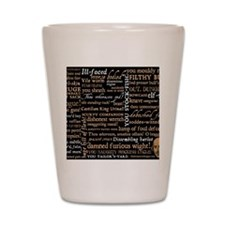 ShakespeareQuotes Shot Glass