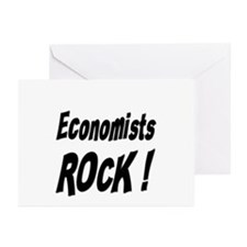 Economists Rock ! Greeting Cards (Pk of 10)