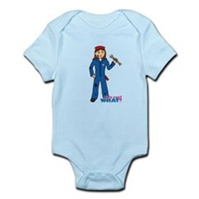 Mechanic Girl Infant Bodysuit