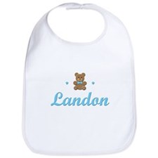 Teddy Bear - Landon Bib