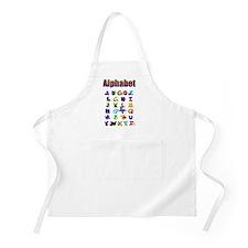 Colorful Alphabet Apron