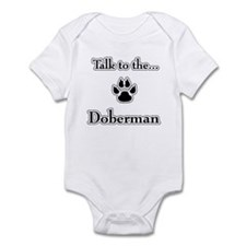 Doberman Talk Onesie
