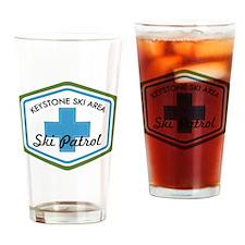 Keystone Ski Patrol Badge Drinking Glass