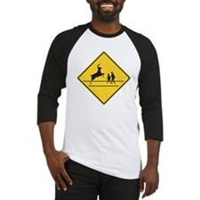 School & Deer Crossing Baseball Jersey