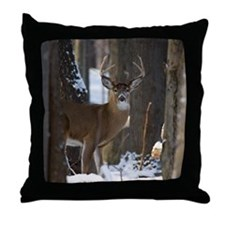 Trophy Whitetail D1316-014 Throw Pillow