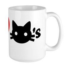Men Love Cats Mug