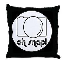 snapbutton Throw Pillow