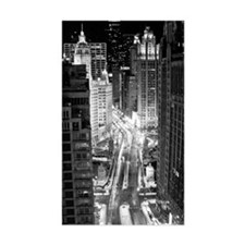 North Michigan Avenue in Chica Decal