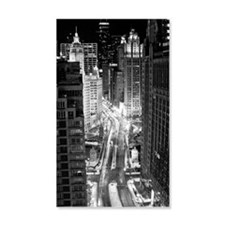 North Michigan Avenue in Chicago  Wall Decal