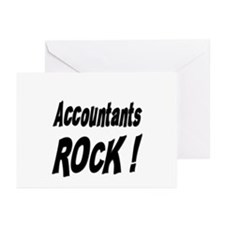 Accountants Rock ! Greeting Cards (Pk of 10)