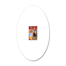Sisterhood Chalice 20x12 Oval Wall Decal