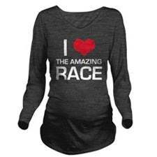 I Love The Amazing R Long Sleeve Maternity T-Shirt