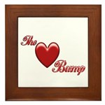 The Love Bump Framed Tile