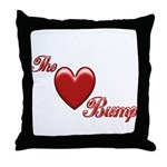 The Love Bump Throw Pillow
