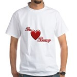 The Love Bump White T-Shirt