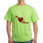 The Love Bump Green T-Shirt