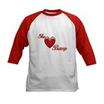 The Love Bump Kids Baseball Jersey