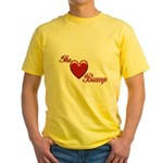 The Love Bump Yellow T-Shirt