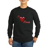 The Love Bump Long Sleeve Dark T-Shirt