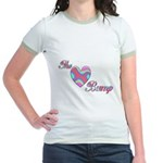 The Love Bump Jr. Ringer T-Shirt