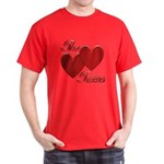 The Love Bump Dark T-Shirt