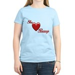 The Love Bump Women's Light T-Shirt