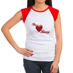 The Love Bump Women's Cap Sleeve T-Shirt