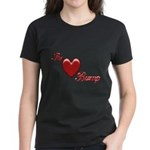 The Love Bump Women's Dark T-Shirt