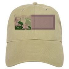 Water Lily Address Labels Baseball Cap