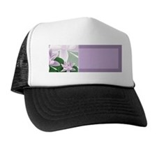 Water Lily Address Labels Trucker Hat