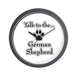 GSD Talk Wall Clock