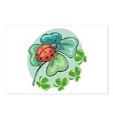 Lucky Ladybug Postcards (Package of 8)