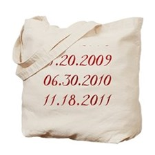 Dates Tote Bag