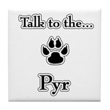 PYR Talk Tile Coaster