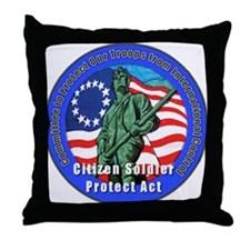 CSPA Throw Pillow