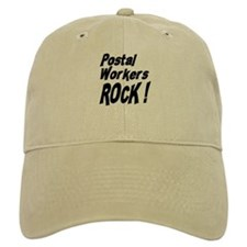 Postal Workers Rock ! Baseball Cap