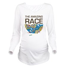 The Amazing Race Tra Long Sleeve Maternity T-Shirt